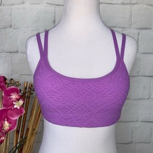 Lorna Jane Sport Bra Purple Size XS